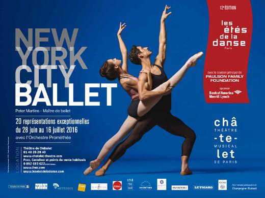Le New York City Ballet aux Étés de la Danse