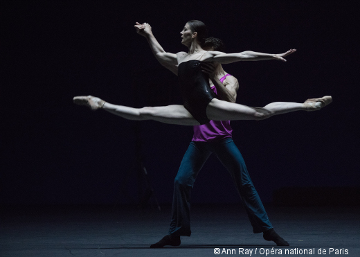 Approximate Sonata de William Forsythe - Marie-Agnès Gillot et William Forsythe