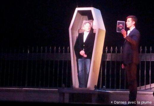 Roman Polanski lors de la conférence de presse - Lancement du Bal des Vampires
