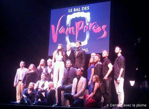 Le casting de la comédie musicale Le Bal des Vampires