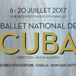 Le Ballet National de Cuba à Paris – Du 6 au 20 juillet Salle Pleyel