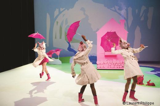 Barbe Neige Et Les Sept Petit Cochon Au Bois Dormant - Barbe Neige et les sept petits cochons au bois dormant de Laura Scozzi Danses avec la plume