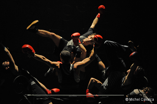 Boxe Boxe de Mourad Merzouki