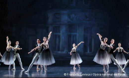 Brahms-Schönber-Quartet de George Balanchine