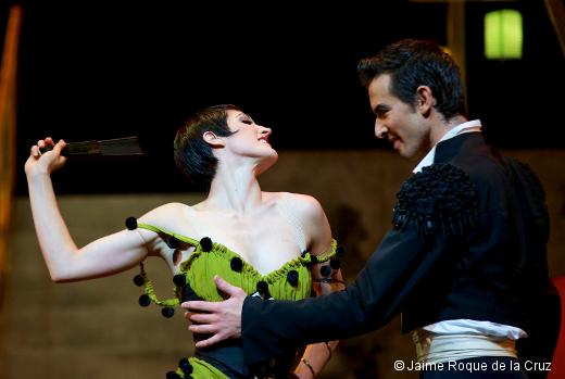 Carmen par le Ballet de l'Opéra de Lyon - Noëllie Conjeaud et Edi Blloshmi