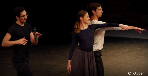 Arthur Pita, Marc Moreau et Marion Barbeau - Répétition de Casse-Noisette