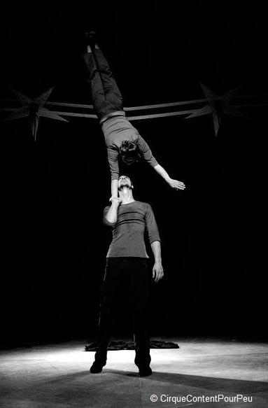 Entre le zist et le geste, Cirque Content Pour Peu (Hugo Marchand et Loïse Manuel)