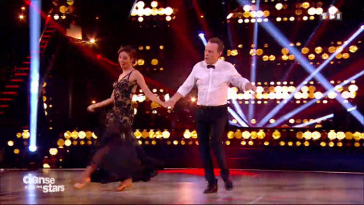 Danse avec les stars - Julien Lepers et Silvia Notargiacomo