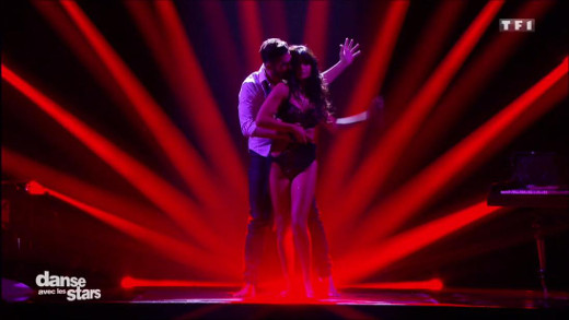 Danse avec les stars - Florent Mothe et Candice Pascal