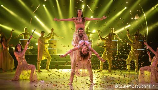 Danse avec les stars - Florent Mothe, Candice Pascal et Priscilla Betti