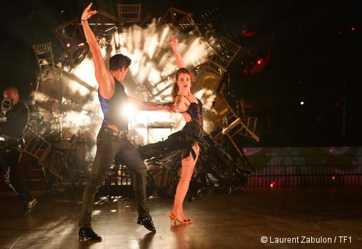 Danse avec les stars - Enjoy Phoenix et Christophe Licata