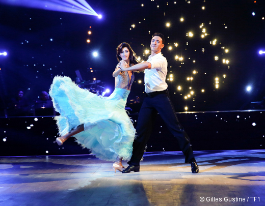 Danse avec les stars - Sophie Vouzelaud et Maxime Dereymez