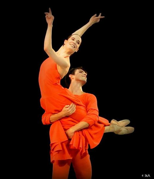 Amandine Albisson et Marc Moreau - Daphnis et Chloé