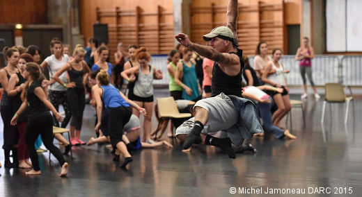 Stage de danse DARC - Cours de modern'jazz d'Angelo Monaco