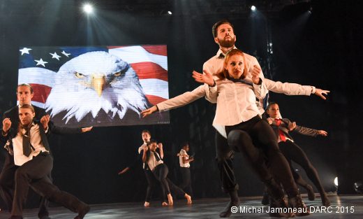 Stage de danse DARC - Spectacle de fin de stage (Christopher Huggins - modern'jazz