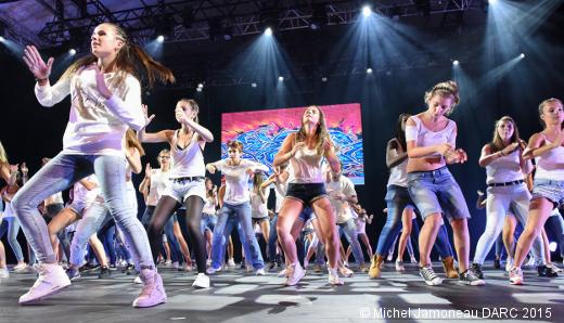 Stage de danse DARC - Spectacle de fin de stage (Ragga Jam - Audrey Bosc)