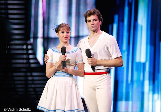 Daria Khokhlova et Igor Tsvirko, mis en avant par le Bolchoï