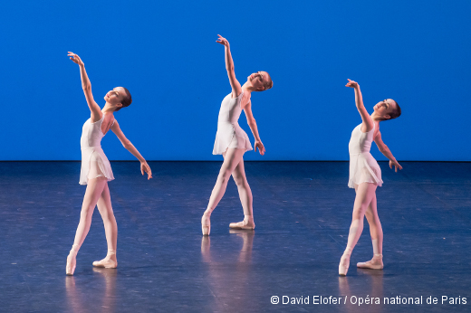 Démonstrations 2015 de l'École de Danse de l'Opéra de Paris - La première division filles