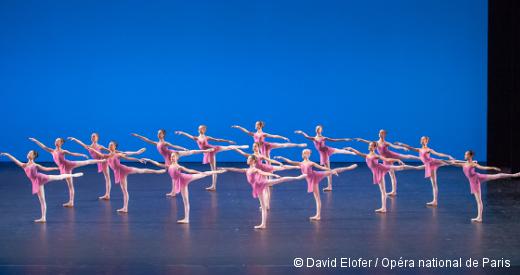 Démonstrations 2015 de l'École de Danse de l'Opéra de Paris - La troisième division filles