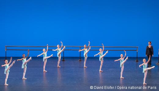 Démonstrations 2015 de l'École de Danse de l'Opéra de Paris - La sixième division filles