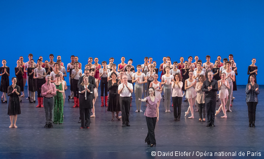 Démonstrations 2015 de l'École de Danse de l'Opéra de Paris - Final des grandes divisions