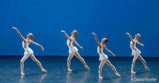 Démonstrations 1ère division filles - École de Danse de l'Opéra de Paris