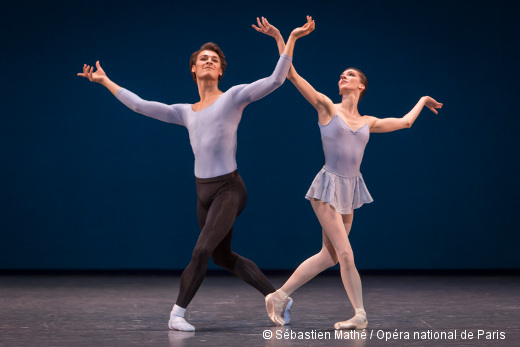 Duo Concertant de George Balanchine - Hugo Marchand et Laura Hecquet