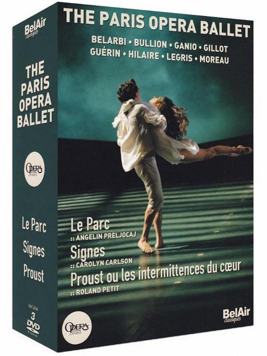 Coffret DVD - Ballet de l'Opéra de Paris
