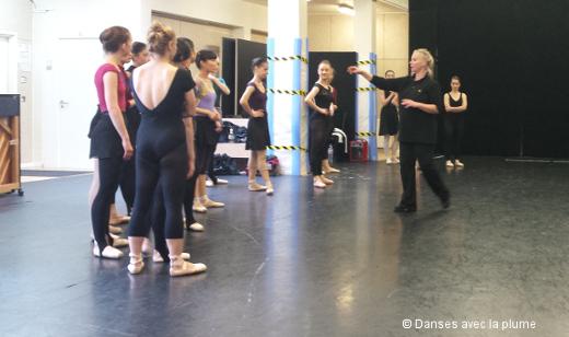 Les auditions danse du Fantôme de l'Opéra