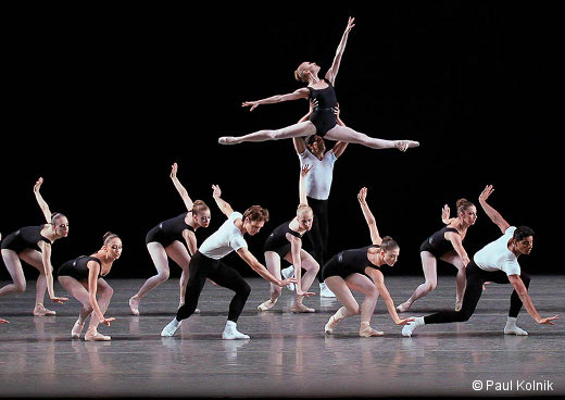 The Four Temperaments de George Balanchine - New York City Ballet