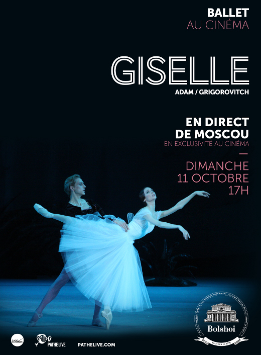 Giselle du Bolchoï au cinéma