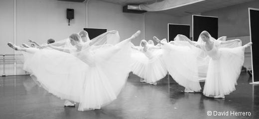 Répétition de Giselle par le Ballet du Capitole