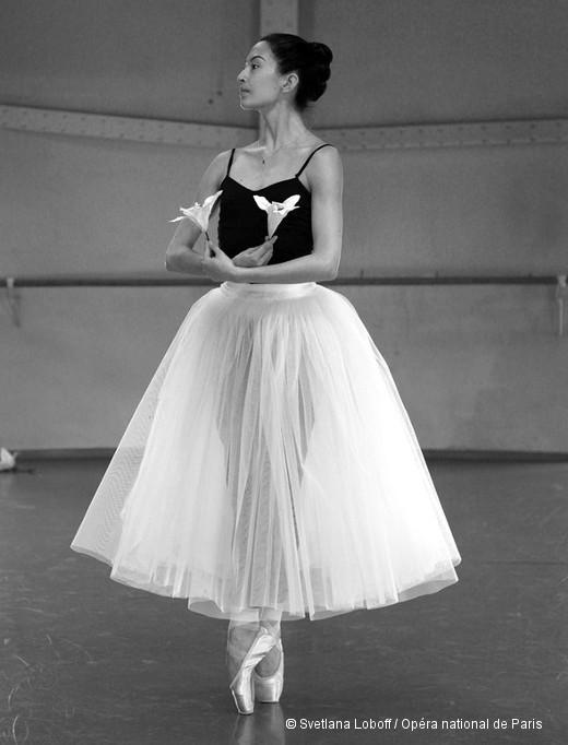 Giselle en répétition - Hannah O'Neill