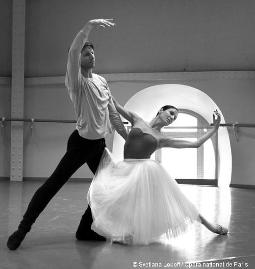 Giselle en répétition - Karl Paquette et Ludmila Pagliero