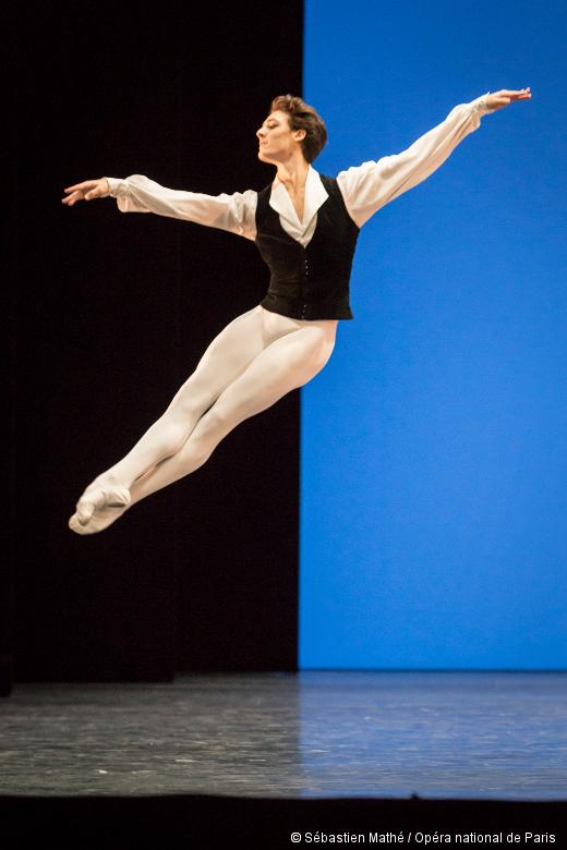 Concours de promotion 2015 - Hugo Marchand dans sa variation imposée (Sylvia-Pas de deux)