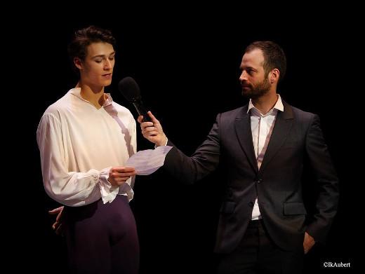 Hugo Marchand lors du Prix AROP 2015