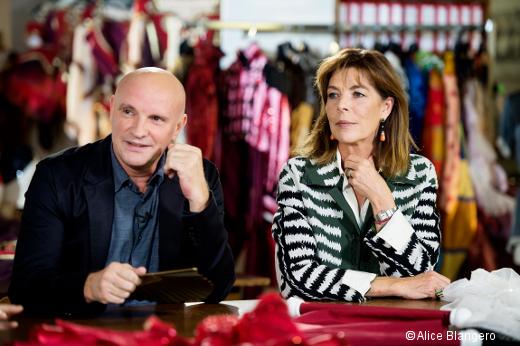Jean-Christophe Maillot et la Princesse Caroline