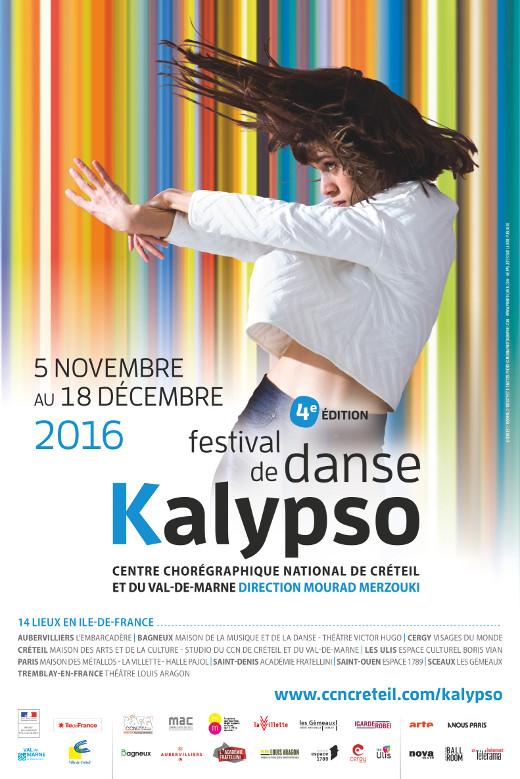 Festival Kalypso du 5 novembre au 18 décembre 2016 dans 14 lieux en Île-de-France.