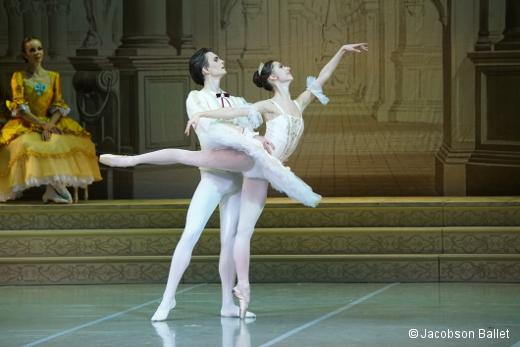 La Belle au bois dormant de Jean Guillaume Bart u2013 Yacobson Ballet Danses avec la plume u201 # Ballet Belle Au Bois Dormant