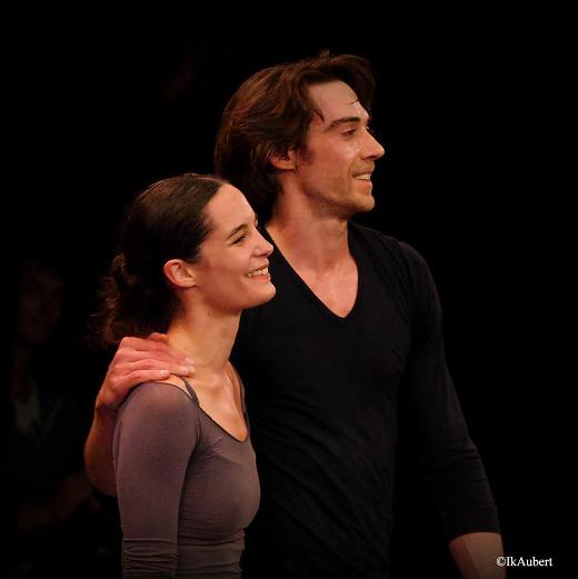 La Nuit s'achève de Benjamin Millepied - Répétition avec Amandine Albisson et Hervé Moreau