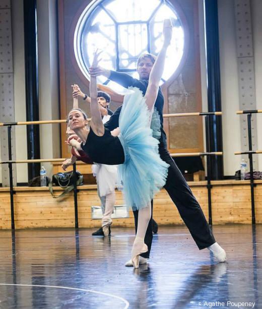 Ludmila Pagliero et Karl Paquette - Répétition du Palais de Cristal