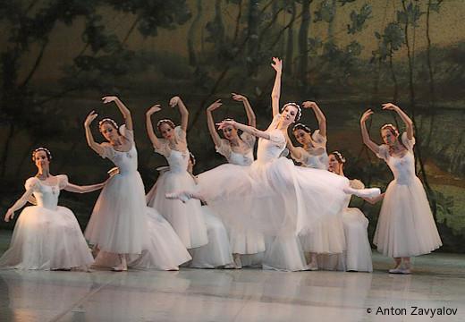 Les Sylphides, ballet de Perm.
