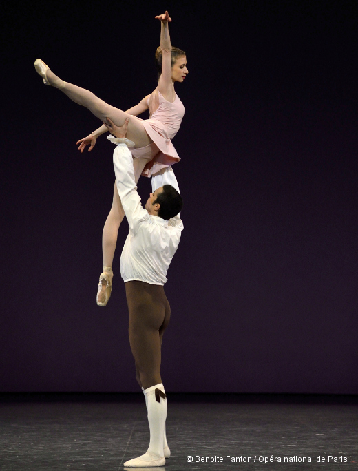 Les Variations Goldberg de Jerome Robbins - Mathias Heymann et Myriam Ould-Braham
