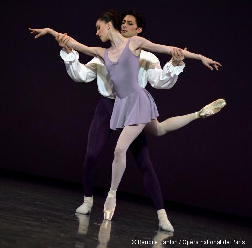 Les Variations Goldberg de Jerome Robbins - Laura Hecquet et Mathieu Ganio