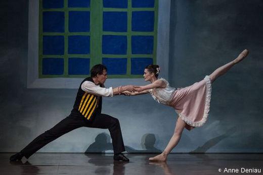 Nicolas Le Riche et Aurélie Dupont - Mademoiselle Julie