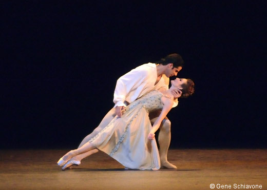Manon-Julie  Kent et Marcello Gomes
