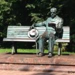 Visite du musée-maison Tchaïkovski à Klin (Russie).