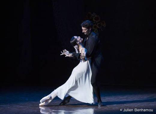 Amandine Albisson et Josua Hoffalt - Onéguine