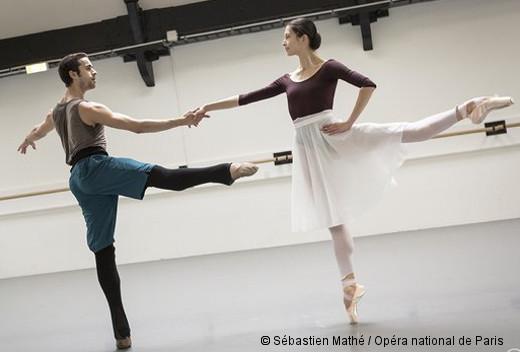 Other Dances de Jerome Robbins - Mathias Heymann en répétition