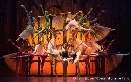 Piège de lumière de John Taras - École de Danse de l'Opéra de Paris